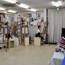 展覧会のエスキース教室  蝦名協子