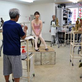 彫刻 日曜塑像教室   講師  三木 勝