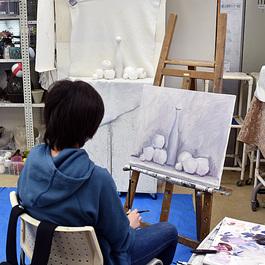 <新設> 鍋島正一 日曜絵画教室  午後  (第2,4日曜午後)