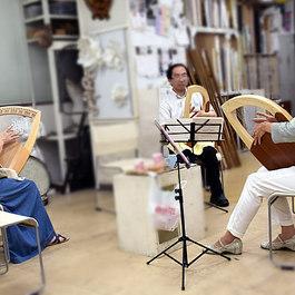 {無料体験} 癒しの竪琴ライアー教室     講師 光枝 康子