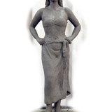 彫刻塑像立像 末定央 作 フラダンサー
