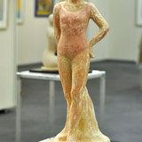 彫刻テラコッタ立像 バレリーナ
