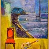 油絵画 蝦名協子の大人のアトリエ木曜クラス
