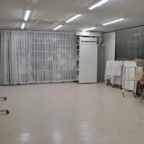 教室内部_机もイーゼルも出していない状態。