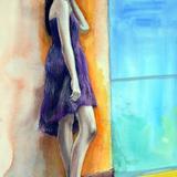人物スケッチ会 2月2日*祝合格卒業記念モデル会開催#セーラー服の美少女 イメージ
