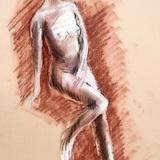 17日*紅葉クロッキー会開催します#初の白人美女裸婦ヌード イメージ