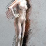 5月21日:クロッキー会開催*裸婦ヌード イメージ