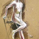 9月17日#クロッキー会開催*アイドルな裸婦ヌード* イメージ