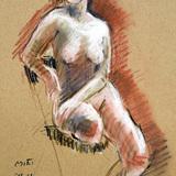 10月のクロッキー会開催#裸婦ヌードモデル*15日 イメージ