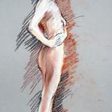 11月の#クロッキー会開催*裸婦ヌード イメージ