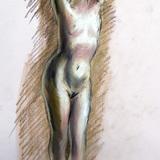 12月のクロッキー会開催*17日#裸婦ヌード イメージ