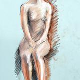1月の#クロッキー会開催します。21日*裸婦ヌード イメージ