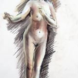 5月のクロッキー会:20日開催*裸婦ヌード イメージ