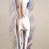 1月20日:クロッキー会開催します*裸婦ヌード#音楽の精 イメージ