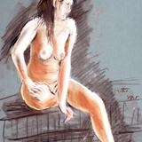 3月17日:クロッキー会開催します*裸婦ヌード*カリスマモデル イメージ