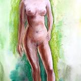 6月16日*クロッキー会開催します。クロッキー初登場の裸婦 イメージ