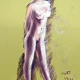 7月21日にクロッキー会開催します。高気圧な裸婦モデル イメージ