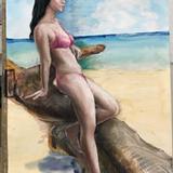 暑中お見舞いモデル会:8月18日#クロッキー会開催*初ヌードの女子大生追加デヴュー イメージ