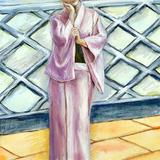 9月1日:人物スケッチ会開催します*着物美人が和装セミヌード イメージ