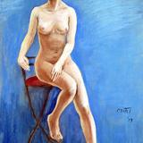 15日*猛暑な夏忘れクロッキー会開催#妖精裸婦ヌード イメージ