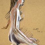 3月の#クロッキー会開催:15日*ロシア クリミヤの金髪美女 イメージ