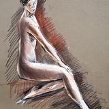 5月16日*クロッキー会を開催します。裸婦ヌード イメージ