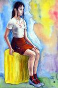 [3] ウクライナの混血美少女、13歳