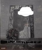 [3] 長谷川操 作「鏡の中で」油絵