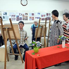 鍋島正一のイタリアルネッサンス絵画技法入門講座の油絵無料体験