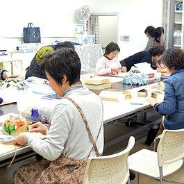 ステンドグラス教室  講師 馬場香津子