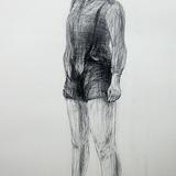 鉛筆画_少女