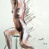 6月20日#クロッキー会開催します*スレンダー美人裸婦ヌードモデル イメージ